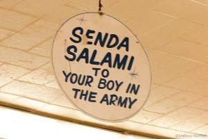 Send a Salami sign