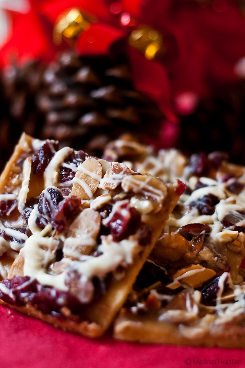 Jingle Bars: Cranberries and Caramel!