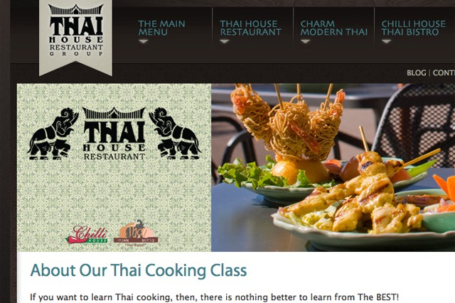 Thai Cooking Classes and Notre Dame