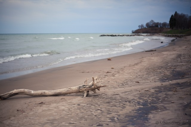 The beach at Lake Ontario