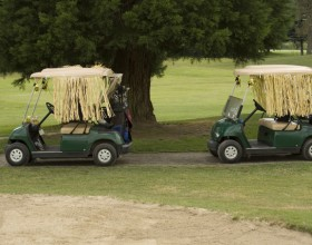Sometimes, golf is so frustrating, you need to lighten up.
