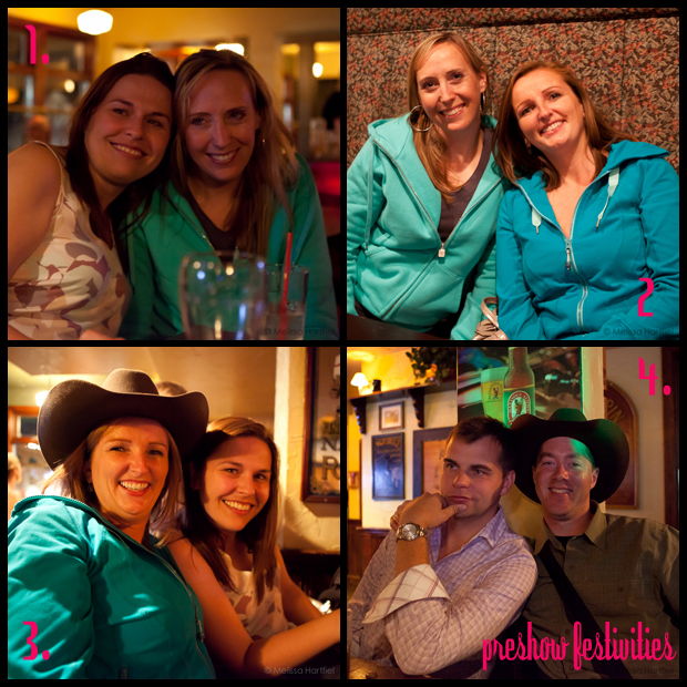 collage of party photos