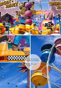 Ferris Wheel, fast fair rides