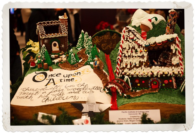 Gingerbread Lane at the Hyatt