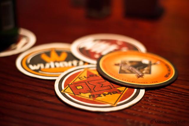 pub coasters
