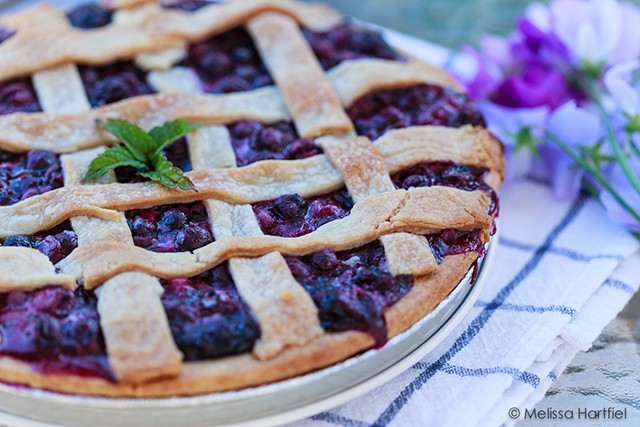 The Simple Blueberry Pie