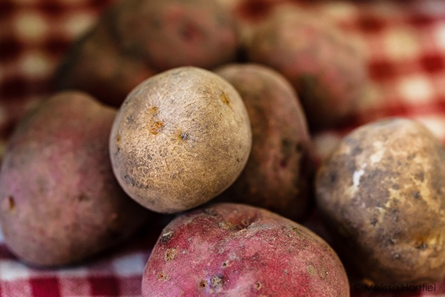 Before & After Monday: Post Processing Potatoes