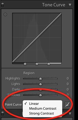 tone curve contrast