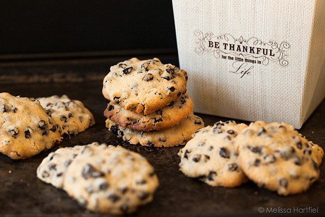 Currant Cookies & Thanksgiving