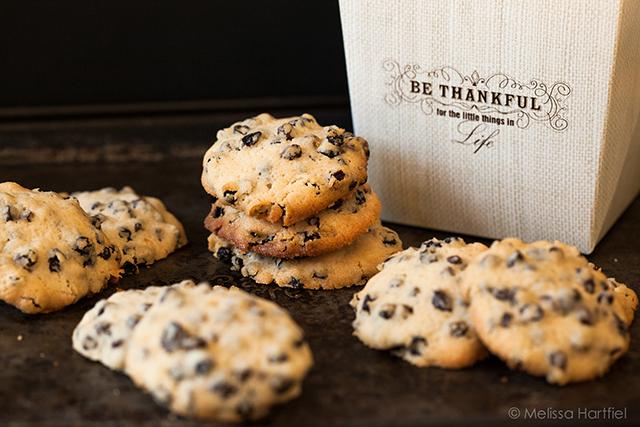 Stacks of cookies