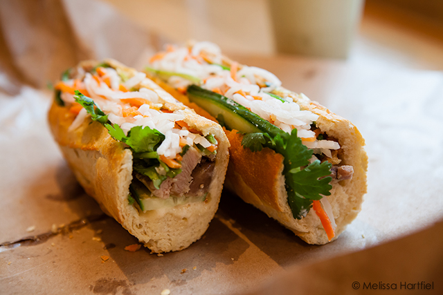 Pork and chicken Banh Mi