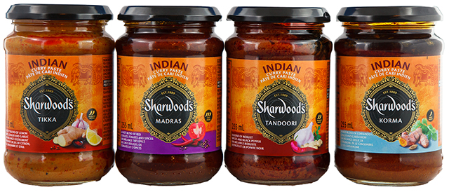 Sharwood Indian Cooking Pastes