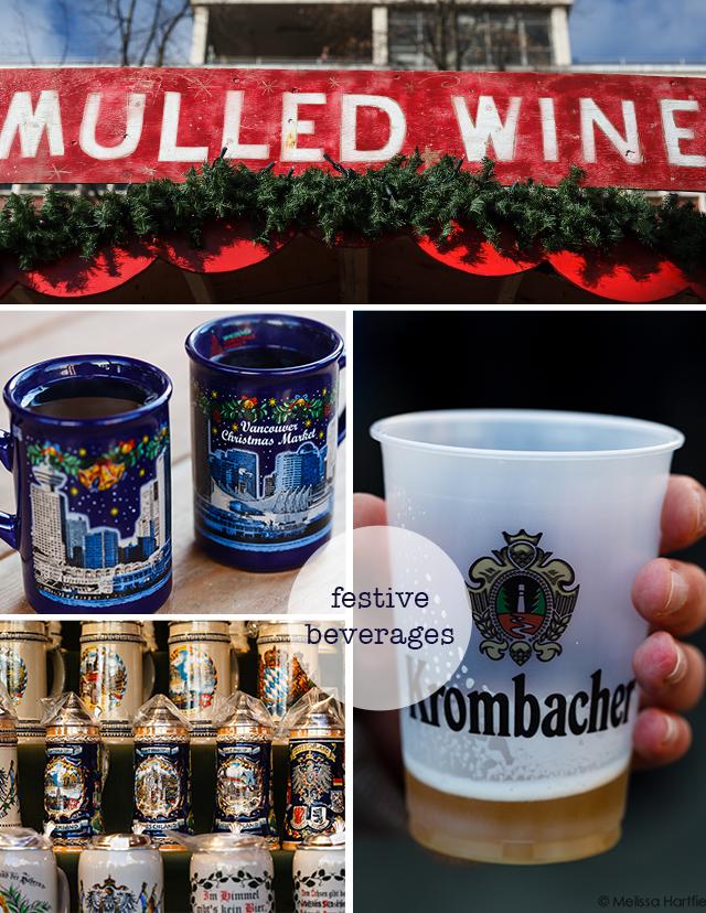 Winter Beverage Collage