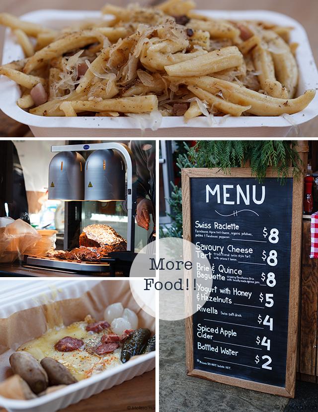 German food collage