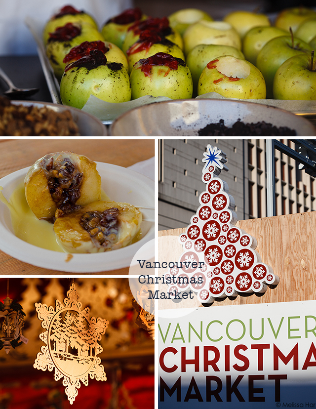 Vancouver Christmas Market Collage