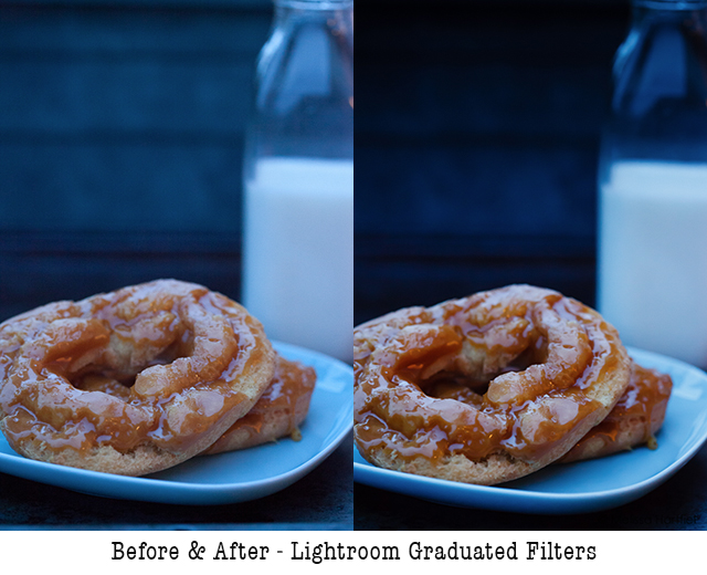 Before & After - Lightroom Graduated Filters