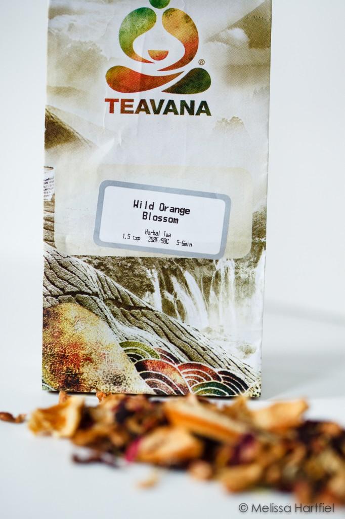 Teavana Wild Orange Blossom Herbal Tea