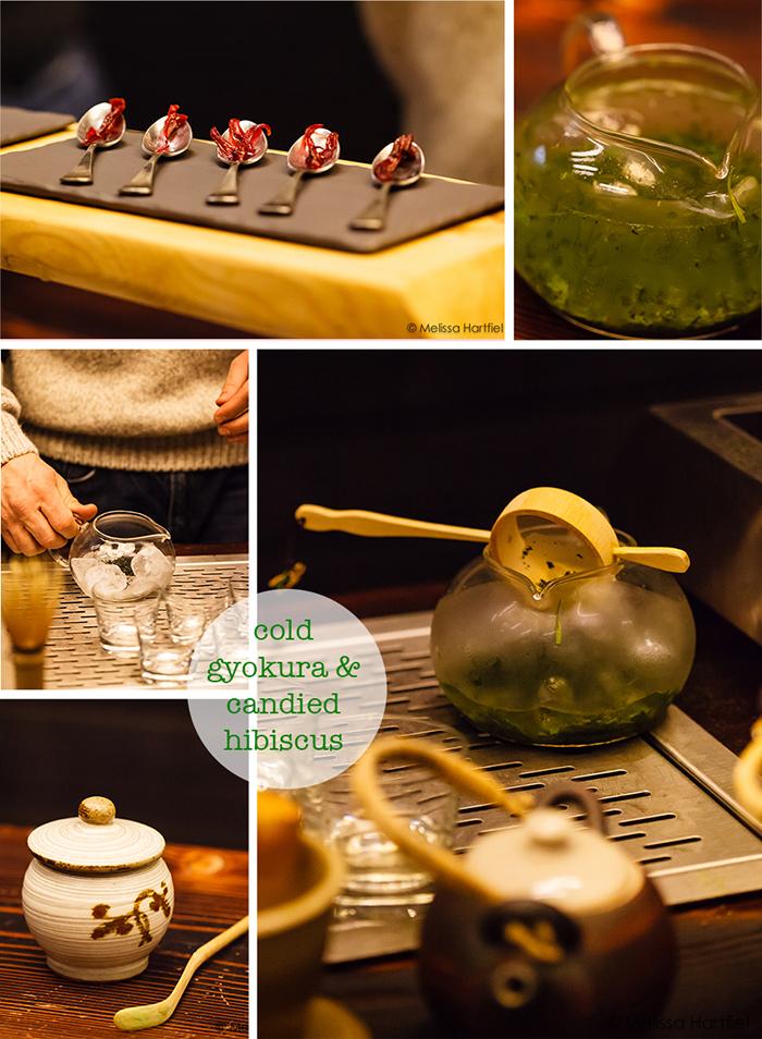 gyokura tea collage