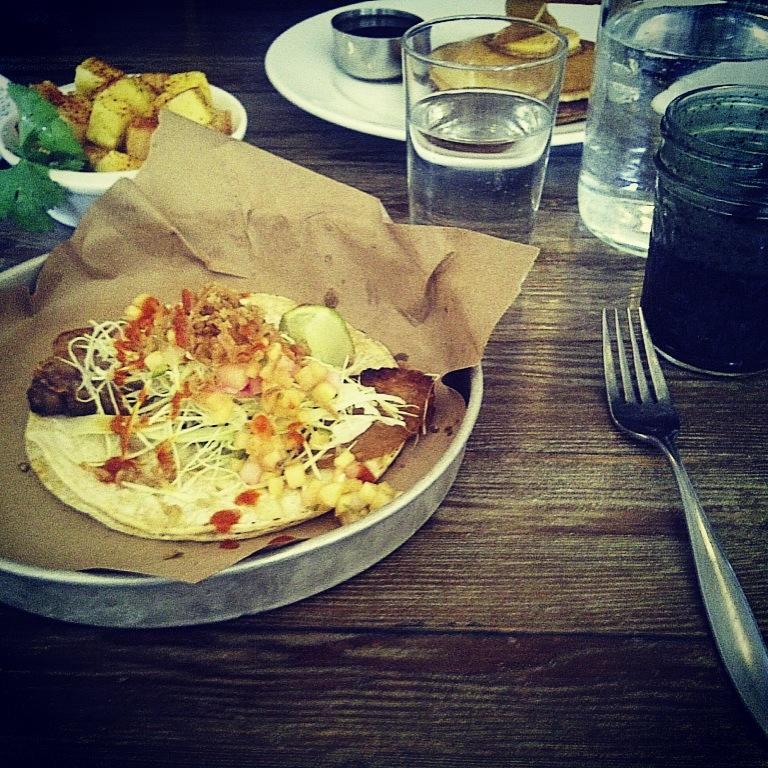 Pork Jowl Taco