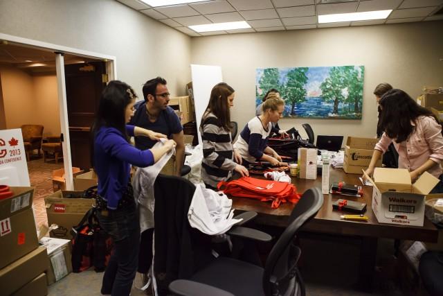 our volunteers hard at work