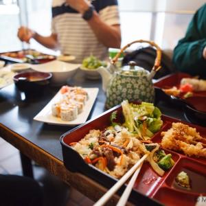 Sushi group dinner