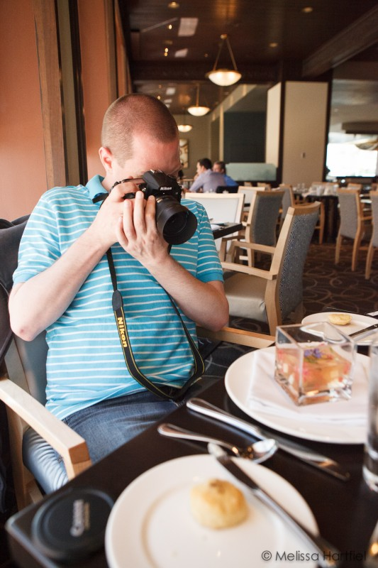 Food Husband Sean doing his thing
