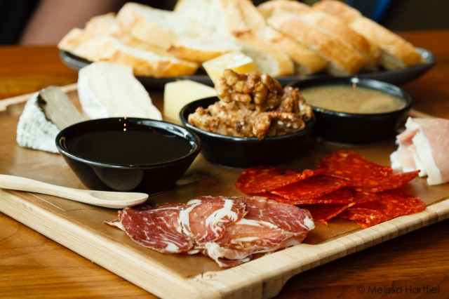 grain tasting bar charcuterie platter
