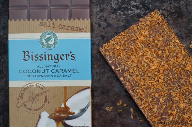 bissinger's coconut caramel bar | www.eyesbiggerthanmystomach.com