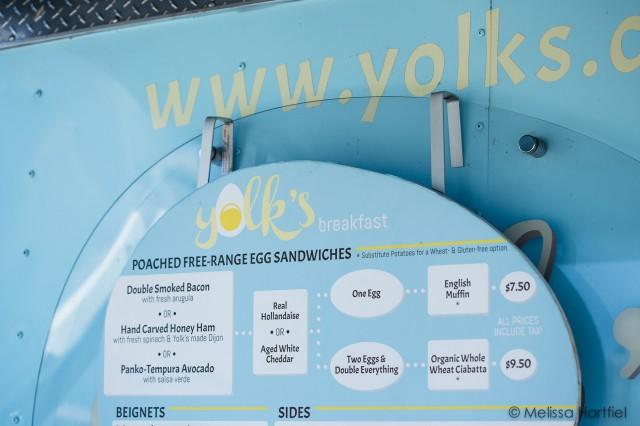 yolks food cart