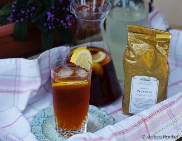 Friday Tea & Chocolate: Provence Lemony Sweetened Ice Tea
