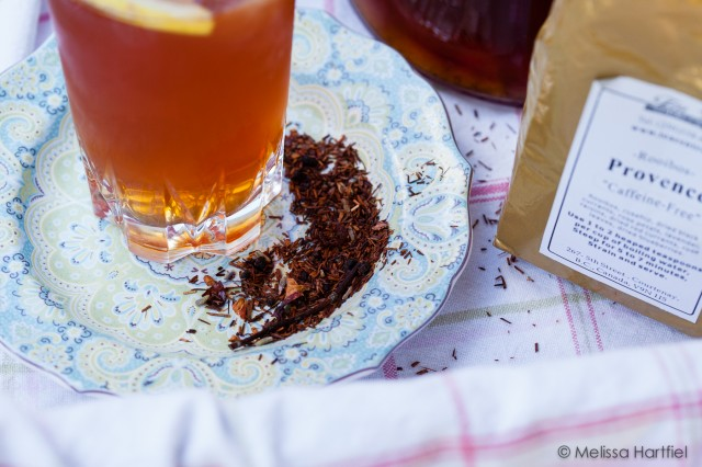 provence lemony sweetened iced tea | eyesbiggerthanmystomach.com