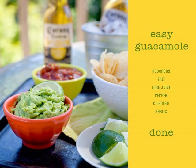 easy guacamole | www.eyesbiggerthanmystomach.com