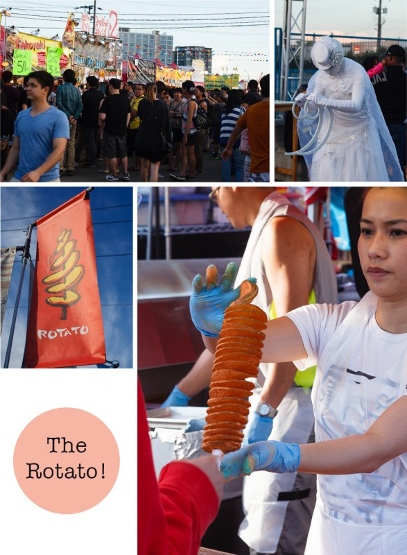 The Rotato - Richmond Night Market