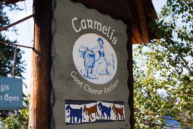 Carmelis Goat Cheese Artisan