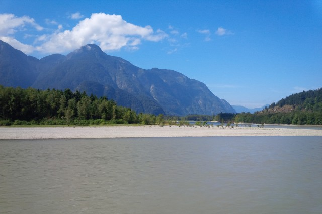 The might Fraser River at Hope