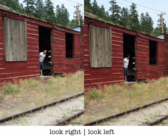 look right look left