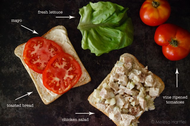 anatomy of a chicken salad sandwich | www.eyesbiggerthanmystomach.com
