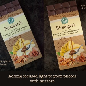adding focused light with mirrors | www.eyesbiggerthanmystomach.com