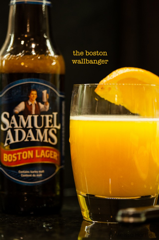 Beer Cocktails - the Boston Wallbanger