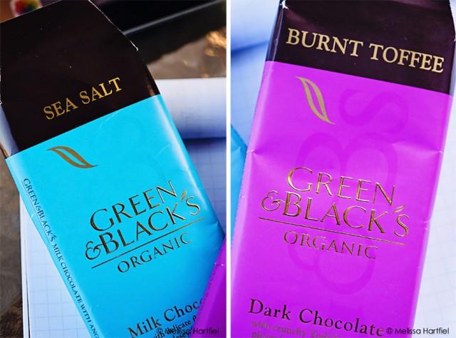 Green & Black's Burnt Toffee and Sea Salt Bars