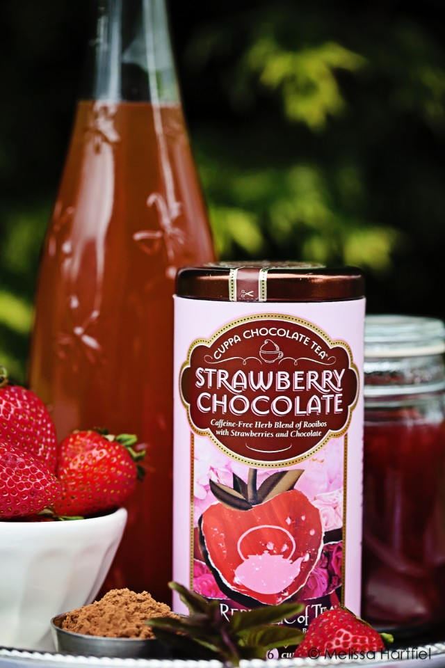 Strawberry Chocolate Iced Tea | Eyes Bigger Than My Stomach