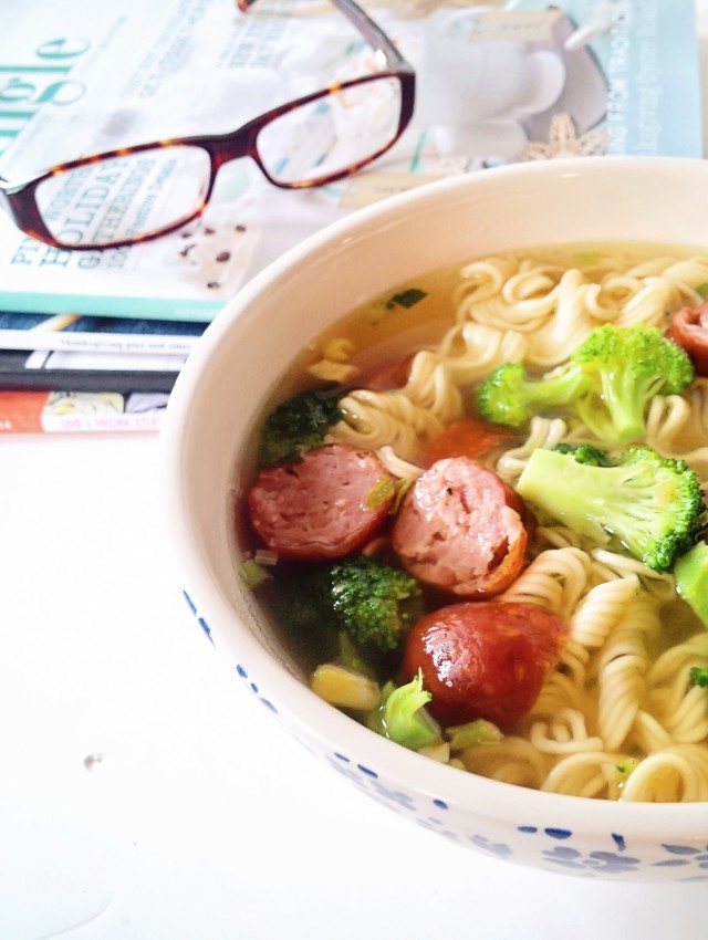 Ramen, magazines and thoughts on creativity