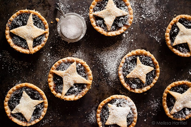 Mince Tarts for Christmas