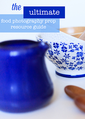 the ultimate food photography prop resource