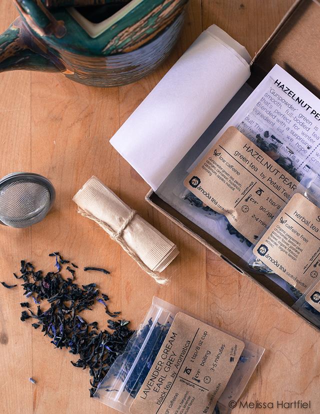 Friday Tea and Chocolate: The Monthly Amoda Tea Box