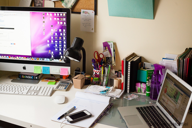 Weekend In My Studio: The Analog Desk | Eyes Bigger Than My Stomach