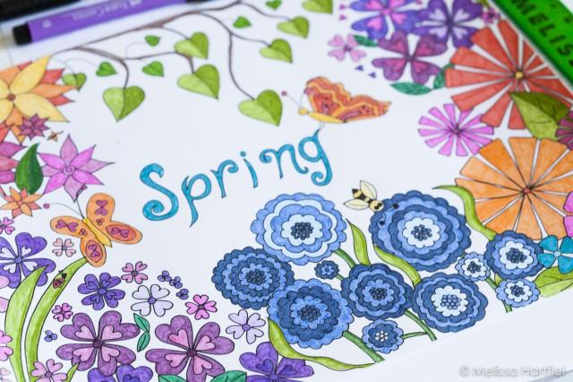 Spring in technicolor
