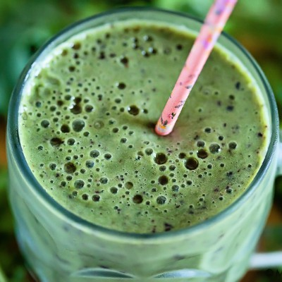 Pineapple Green Smoothie | Eyes Bigger Than My Stomach