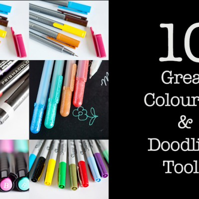 10 Great Colouring and Doodling tools 2