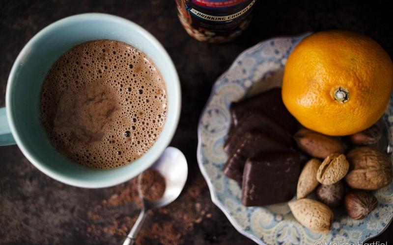 Friday Tea & Chocolate: The Tea Room Raspberry Rooibos Drinking Chocolate